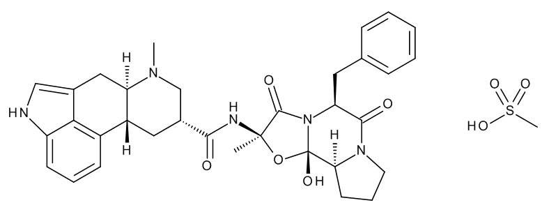 Dihydro Ergotamine Mesylate