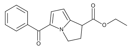 Ethyl (1RS)-5-Benzoyl-2,3-dihydro-1H-pyrrolizine-1-carboxylate (Ketorolac Ethyl Ester)