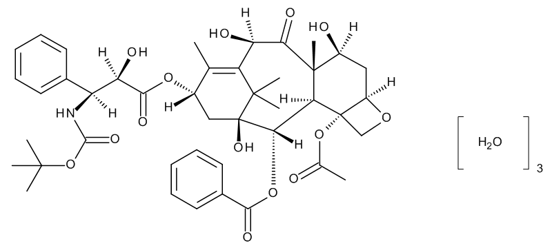 Docetaxel trihydrate