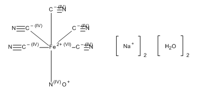 Sodium nitroprusside Assay Standard