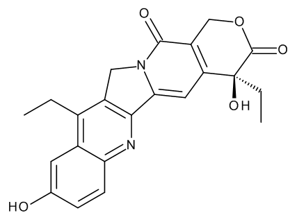 7-Ethyl-10-hydroxycamptothecin ((S)-4,11-Diethyl-4,9-dihydroxy-1H-pyrano[3',4':6,7]indolizino[1,2-b]quinoline-3,14(4H,12H)-dione)