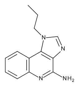 1-Propyl-1H-imidazo[4,5-c]quinolin-4-amine