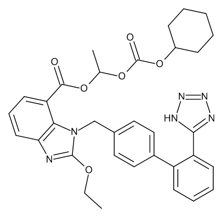 Candesartan cilexetil for system suitability