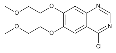 4-Chloro-6,7-bis(2-methoxyethoxy)quinazoline