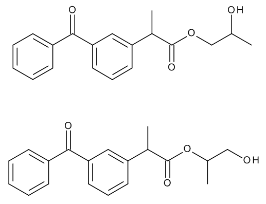 Ketoprofen Propylene Glycol Ester (Mixture of Isomers)