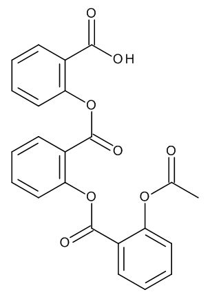 Acetylsalicylsalicylsalicylic Acid