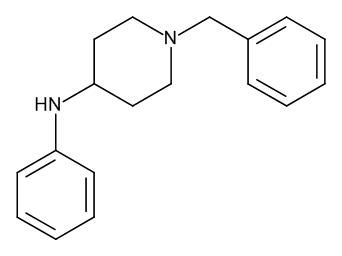 4-Anilino-1-benzylpiperidine