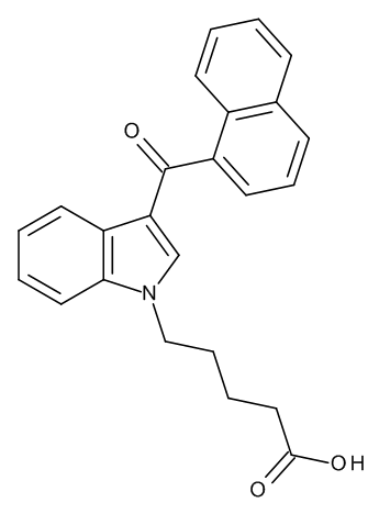 JWH 018 N-pentanoic acid metabolite