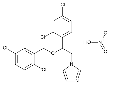 1-[(2RS)-2-[(2,5-Dichlorobenzyl)oxy]-2-(2,4-dichlorophenyl)ethyl]-1H-imidazole Nitrate
