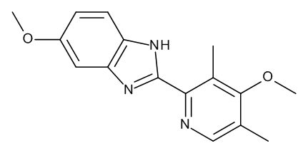5-Methoxy-2-(4-methoxy-3,5-dimethylpyridin-2-yl)-1H-benzimidazole