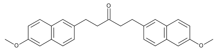 1,5-Bis(6-methoxynaphthalen-2-yl)pentan-3-one