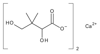 Calcium (D,L)-Pantoate (Calcium (RS)-2,4-Dihydroxy-3,3-dimethylbutyrate)