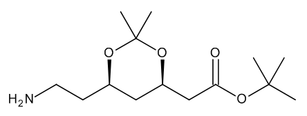 1,1-Dimethylethyl (4R-cis)-6-Aminoethyl-2,2-dimethyl-1,3-dioxane-4-acetate