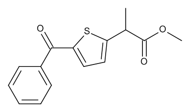 Tiaprofenic Acid Methyl Ester