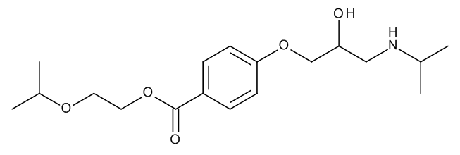 2-Isopropoxyethyl 4-[[(2RS)-2-Hydroxy-3-(isopropylamino)propyl]oxy]benzoate (Bisoprolol Ester)