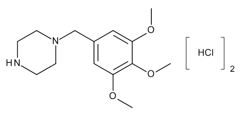 1-(3,4,5-Trimethoxybenzyl)piperazine Dihydrochloride