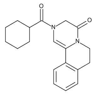 2-(Cyclohexylcarbonyl)-2,3,6,7-tetrahydro-4H-pyrazino[2,1-a]isoquinolin-4-one