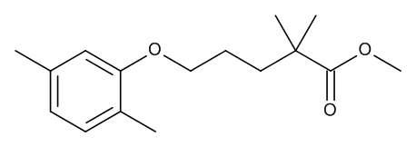Methyl 5-(2,5-dimethylphenoxy)-2,2-dimethylpentanoate (Gemfibrozil Methyl Ester)