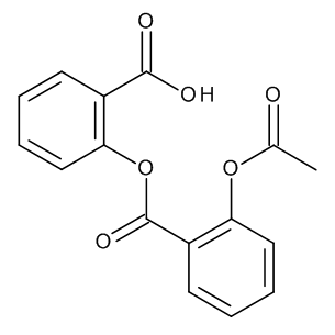 2-[[2-(Acetyloxy)benzoyl]oxy]benzoic Acid (Acetylsalicylsalicylic Acid)