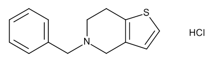5-Benzyl-4,5,6,7-tetrahydrothieno[3,2-c]pyridine Hydrochloride