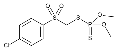 Carbophenothion-methyl-sulfone