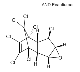 trans-Heptachlor-endo-epoxide (isomer A)