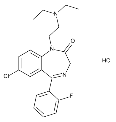 Flurazepam Monohydrochloride