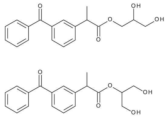 Ketoprofen 1,2,3-Propanetriol Esters (Mixture of Regio- and Stereoisomers)