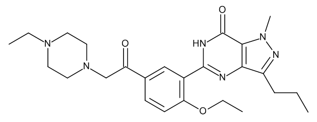 Acetildenafil