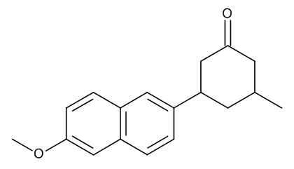 3-(6-Methoxynaphthalen-2-yl)-5-methylcyclohexanone