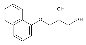 (2RS)-3-(Naphthalen-1-yloxy)propane-1,2-diol (Diol Derivative)