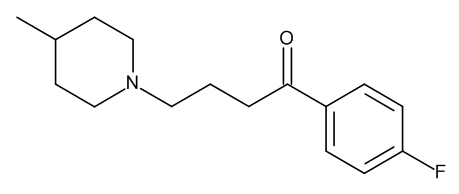 Melperone 1.0 mg/ml in Methanol