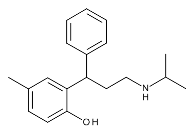 4-Methyl-2-[(1RS)-3-[(1-methylethyl)amino]-1-phenylpropyl]phenol ((RS)-Desisopropyltolterodine)