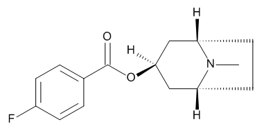 4-Fluorotropacocaine (3-Pseudotropyl 4-Fluoro-benzoate; 3beta-(p-Fluorobenzoyloxy)tropane)