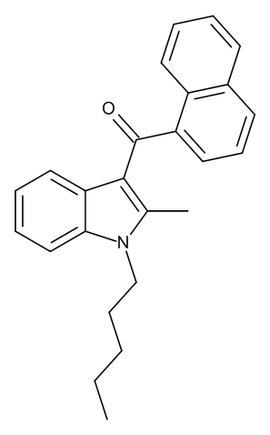 JWH-007 (1-Pentyl-2-methyl-3-(1-naphthoyl)indole) 0.1 mg/ml in Acetonitrile