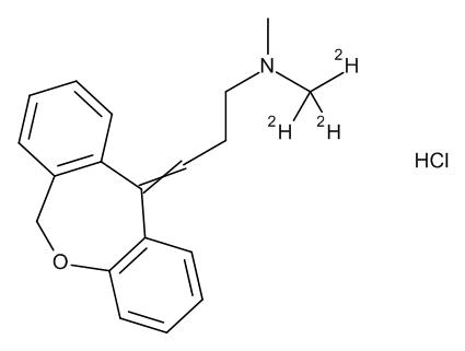 Doxepin-D3 Hydrochloride (cis/trans) 0.1 mg/ml in Methanol (as free base)