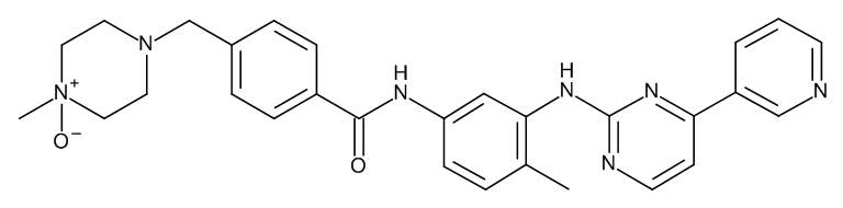 Imatinib (Piperazine)-4-oxide