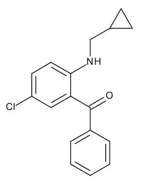 [5-Chloro-2-[(cyclopropylmethyl)amino]phenyl]phenylmethanone