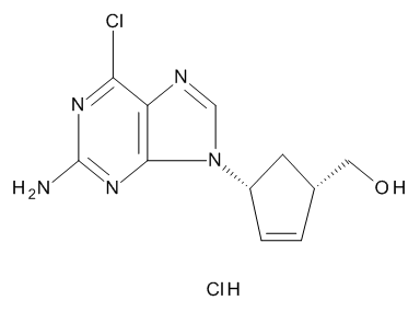 [(1S,4R)-4-(2-Amino-6-chloro-9H-purin-9-yl)cyclopent-2-enyl]methanol Hydrochloride