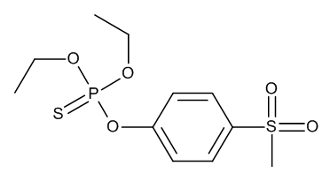 Fensulfothion-sulfone