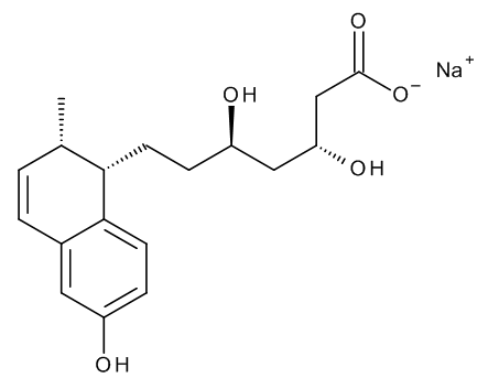 (BetaR,DeltaR,1S,2S)-1,2-Dihydro-Beta,Delta,6-trihydroxy-2-methyl-1-naphthaleneheptanoic Acid Sodium