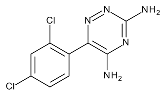 6-(2,4-Dichlorophenyl)-1,2,4-triazine-3,5-diamine