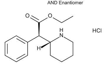 Ethyl (2RS)-Phenyl[(2RS)-piperidin-2-yl]acetate Hydrochloride (Ethylphenidate Hydrochloride)