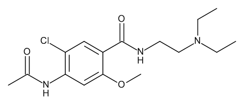 4-(Acetylamino)-5-chloro-N-[2-(diethylamino)ethyl]-2-methoxybenzamide