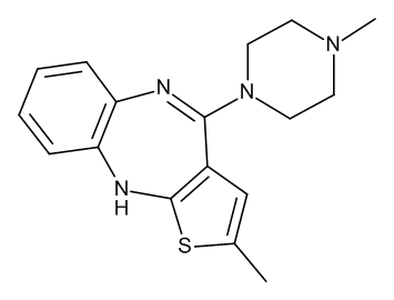 Olanzapine 1.0 mg/ml in Acetonitrile