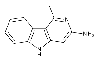 3-Amino-1-methyl-5H-pyrido[4,3-b]indole Acetate