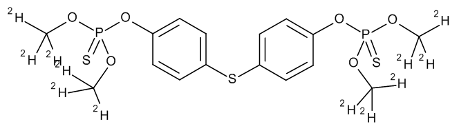 Temephos-d12 (O,O,O',O'-tetramethyl-d12)